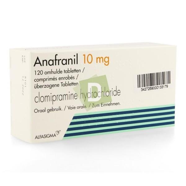 Anafranil 10 mg x 120 Tablets
