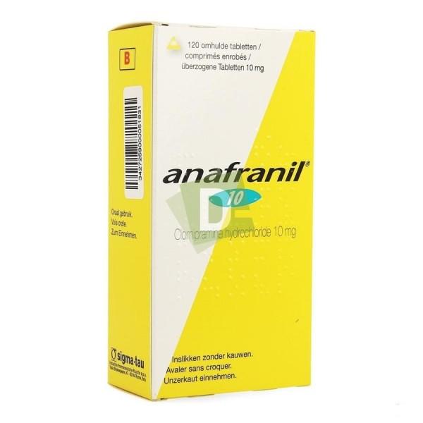 Anafranil 10 mg x 120 Comprimés