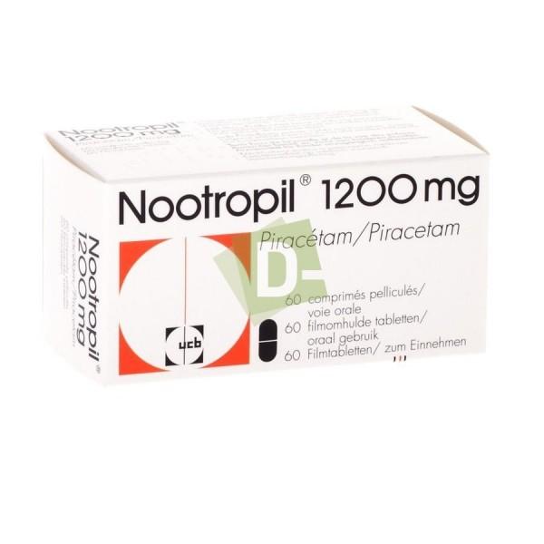 Nootropil 1200 mg x 60 Tablets