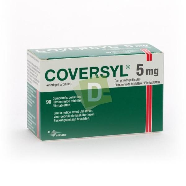 Coversyl 5 mg x 90 Comprimés pelliculés