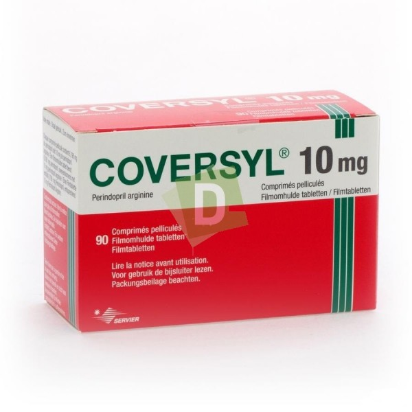 Coversyl 10 mg x 90 Film-coated tablets