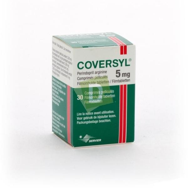 Coversyl 5 mg x 30 Comprimés pelliculés
