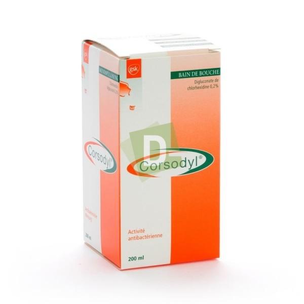 Corsodyl 2 mg / ml Mouthwash 200 ml