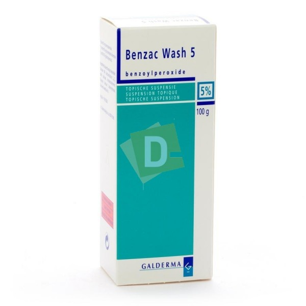 Benzac Wash Topical Suspension 5% 100 g