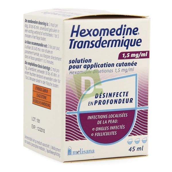 Hexomedine Transdermique Solution 45 ml
