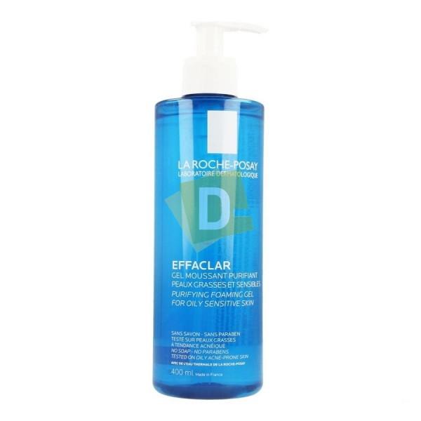 LRP Effaclar Gel Moussant Purifiant pour peaux à tendance Acnéique 400 ml