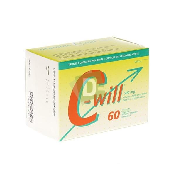 C-Will 500 mg x 60 Capsules