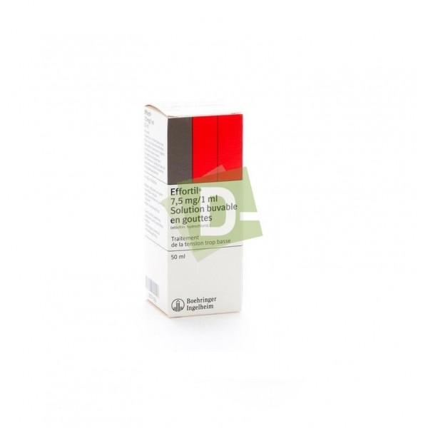 Effortil Gouttes 7,5 mg / 1 ml  50 g