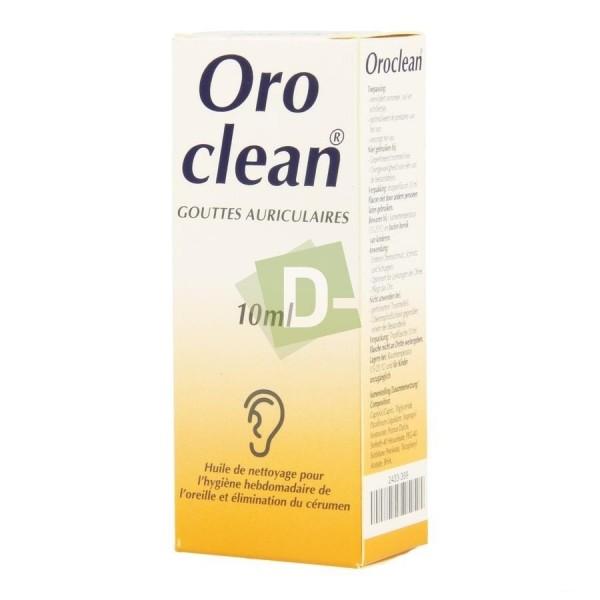 Oroclean gouttes auriculaires nettoyantes 10 ml