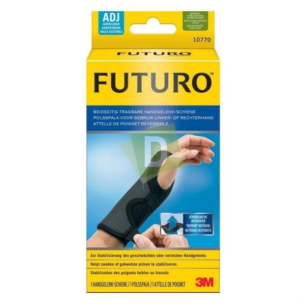 Futuro Adjustable Reversible Wrist Splint Black