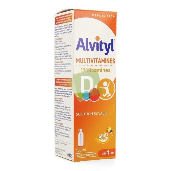 Alvityl Multivitamines Solution Buvable 150 ml