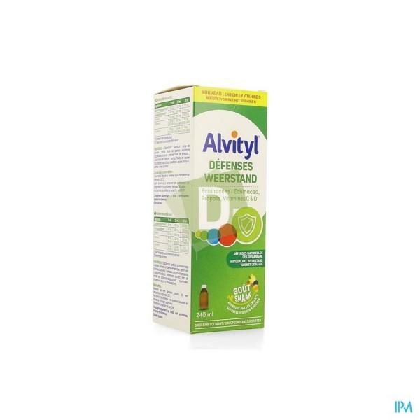 Alvityl Défenses Solution Buvable 240 ml