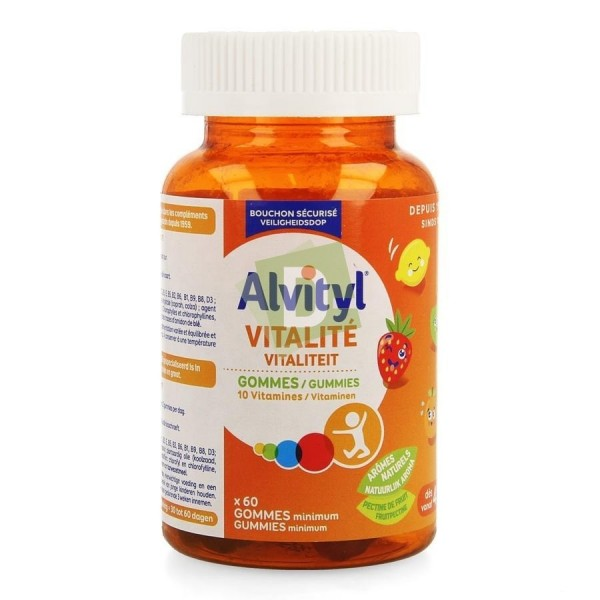 Alvityl Multivitamines Vitalité x 60 Gommes