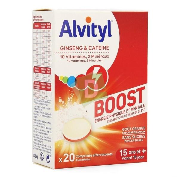 Alvityl Boost x 20 Comprimés effervescent