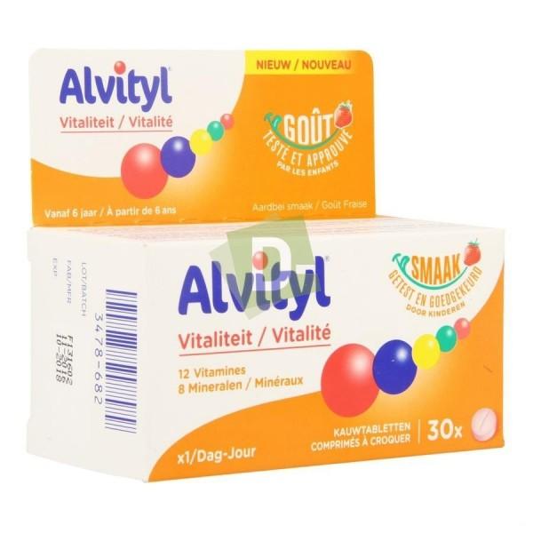Alvityl Vitalité x 30 Comprimés à croquer