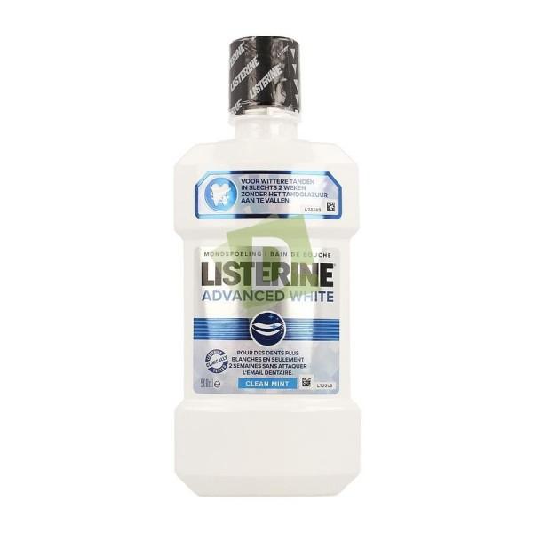 Listerine Advanced White 500 ml : Pour des dents plus blanche en deux semaines seulement