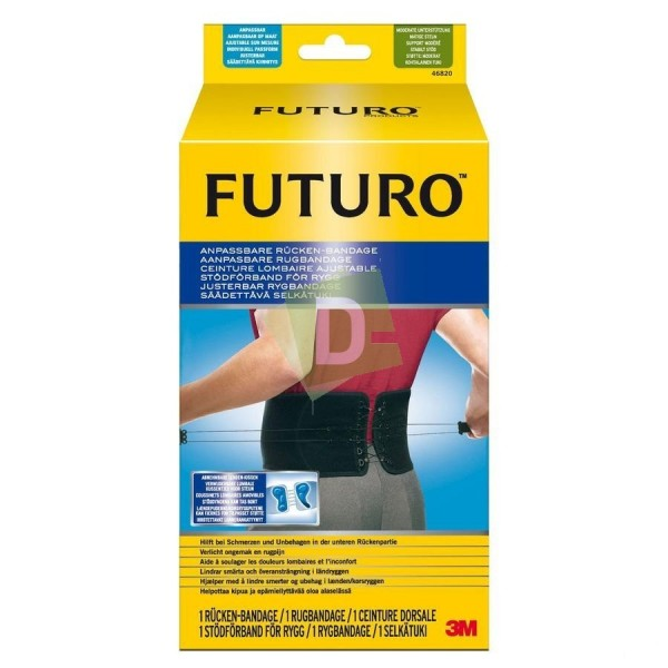Futuro Adjustable Lumbar Belt Black