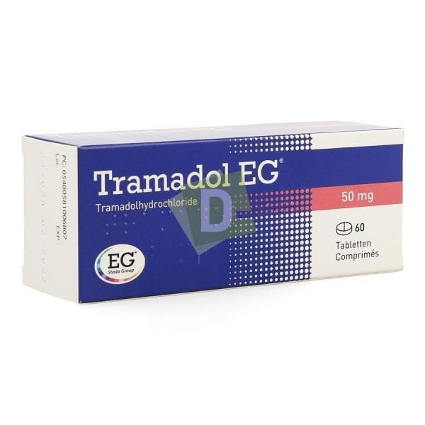 Tramadol EG 50 mg x 60 Comprimés