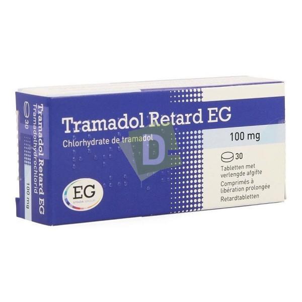 Tramadol Retard EG 100 mg x 30 Comprimés