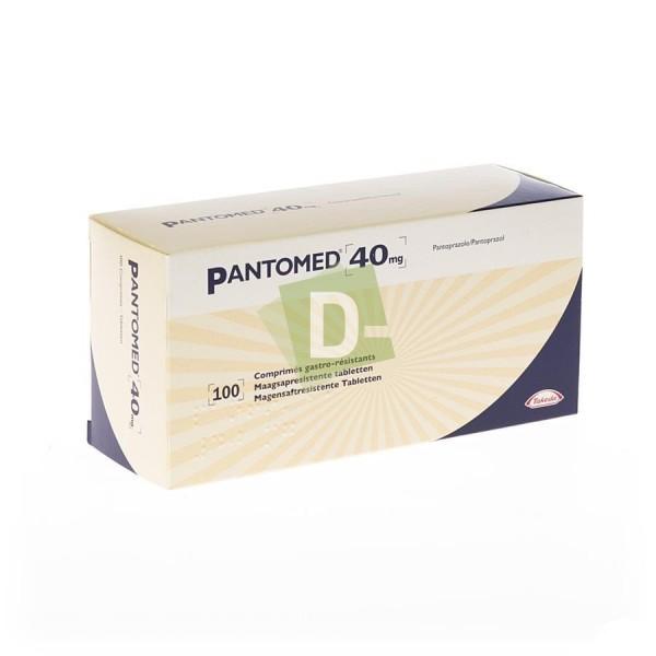 Pantomed 40 mg x 100 Comprimés gastro-résistants