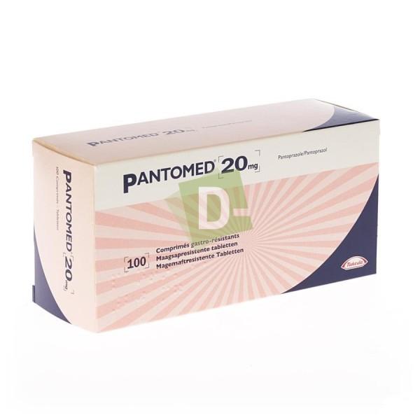 Pantomed 20 mg x 100 Comprimés gastro-résistants