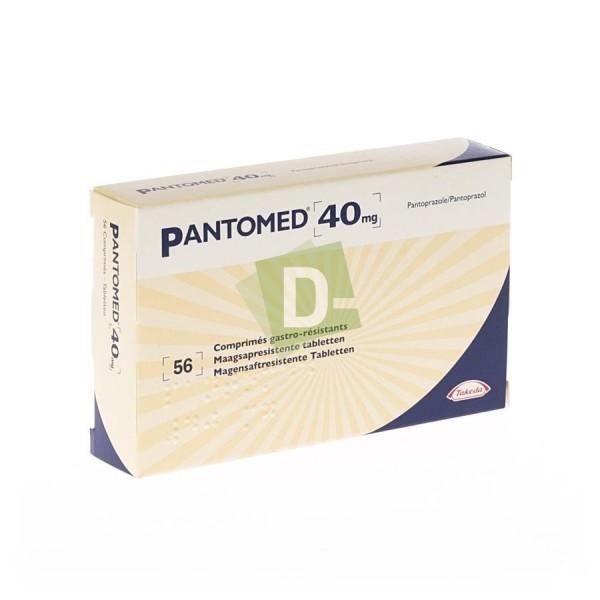 copy of Pantomed 20mg x 28 Comprimés gastro-résistants Maagsapresistente tabletten