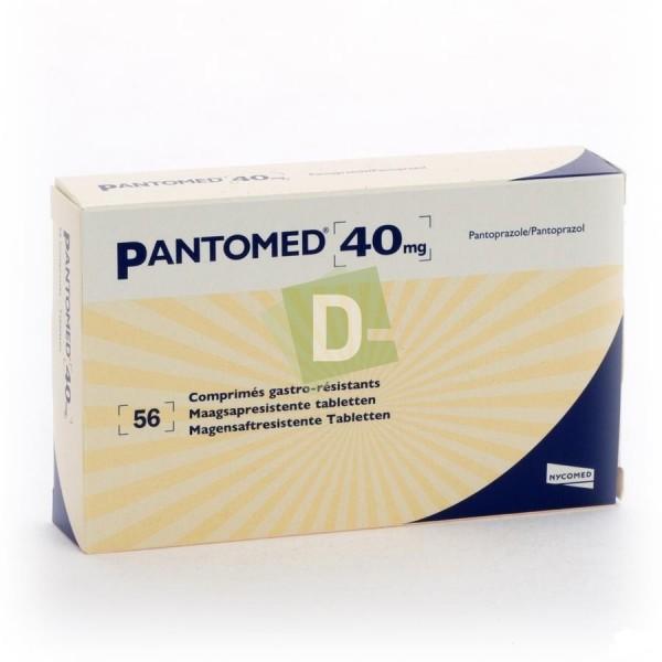 Pantomed 40 mg x 56 Comprimés gastro-résistants