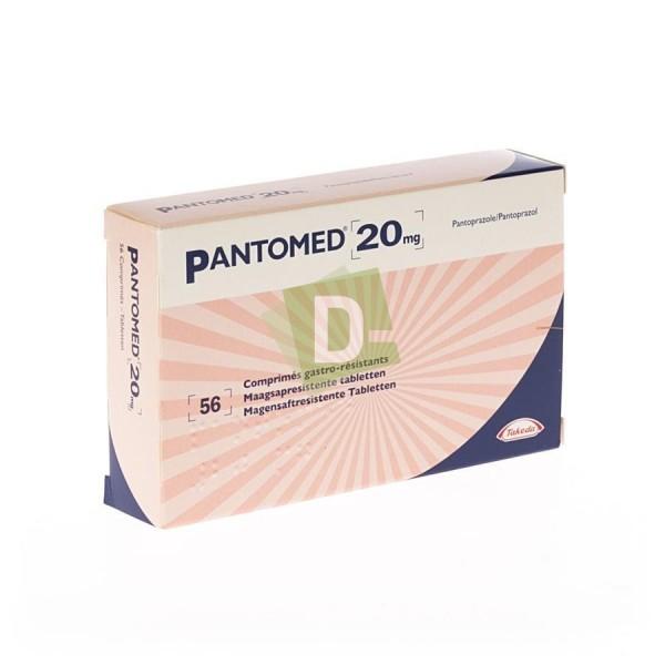 Pantomed 20 mg x 56 Comprimés gastro-résistants