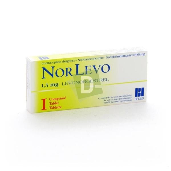 Norlevo (Levonorgestrel) 1.5 mg x 1 Comprimé