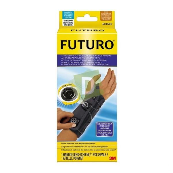 Futuro Attelle Poignet Ajustable Droit Custom Dial