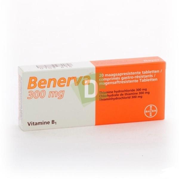 Benerva 300 mg x 20 Comprimés