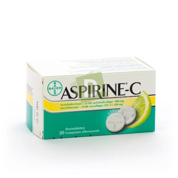 Aspirin-C 400 mg x 20 Effervescent tablets