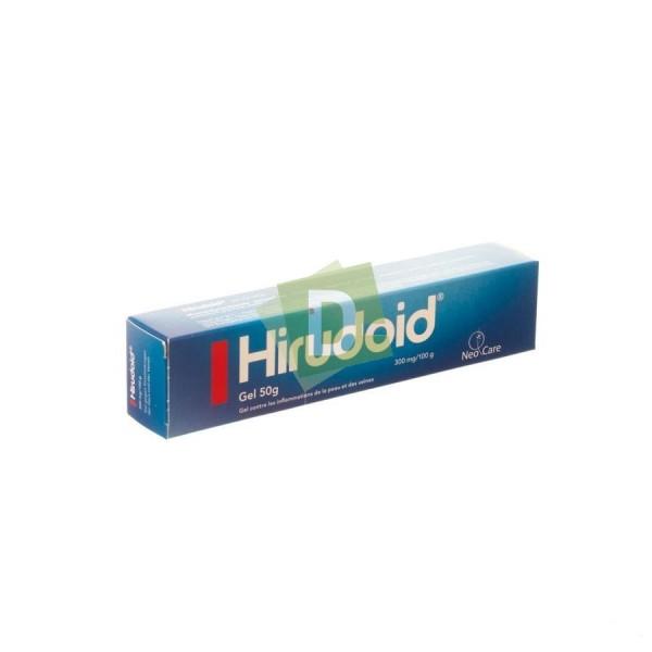 Hirudoid 50 g : Gel contre l'inflammation de la peau et des veines