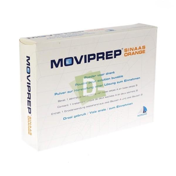 Moviprep Orange 2 x 2 Sachets Poudre Pour Solution Buvable