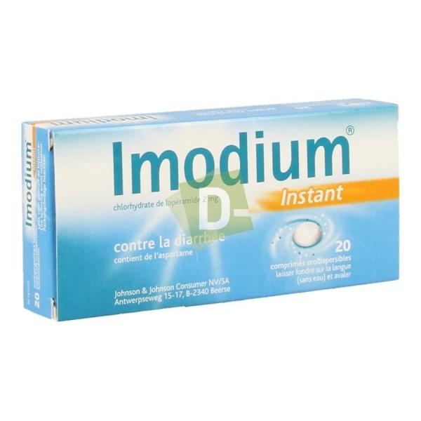Imodium Instant x 20 Comprimés fondants : Contre la diarrhée