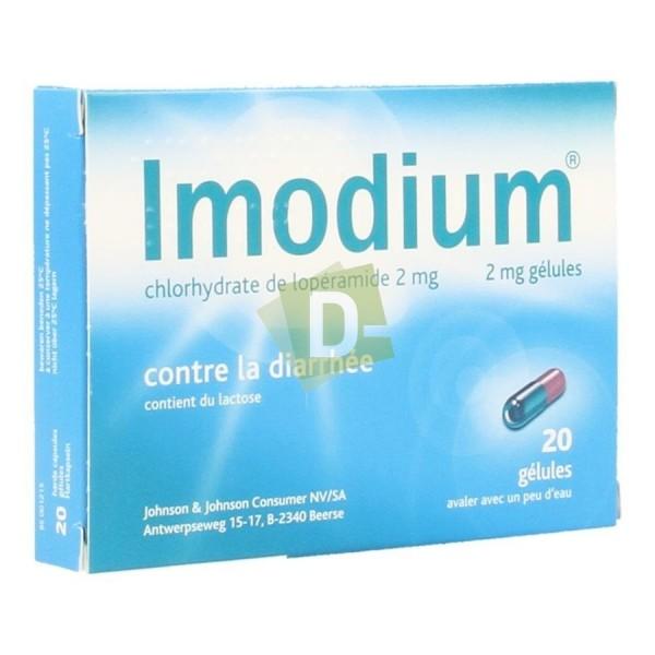 Imodium x 20 Caspules : Contre la diarrhée