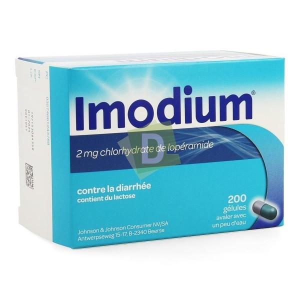 Imodium x 200 Gélules : Contre la diarrhée