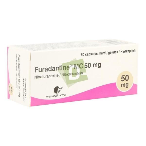 Furadantine MC 50 mg x 50 Gélules