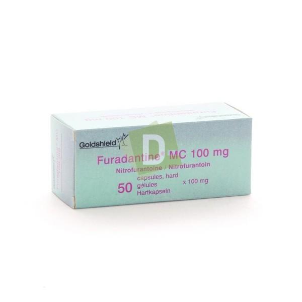 Furadantine MC 100 mg x 50 Gélules
