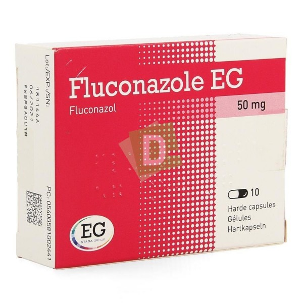 Fluconazole EG 50 mg x 10 Capsules