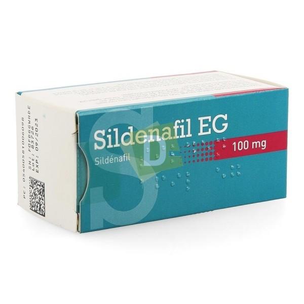 Sildénafil EG 100 mg x 12 Comprimés