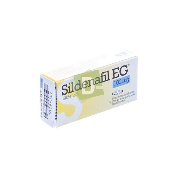 Sildénafil EG 100 mg x 4 Comprimés